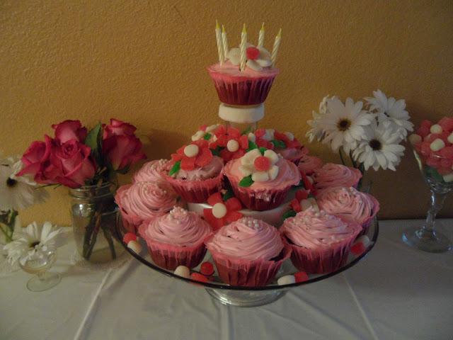 tea party cupcakes