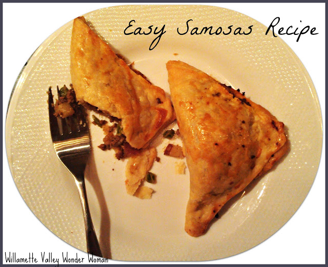 Recipe how to make Samosas