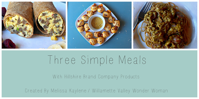 three simple meals