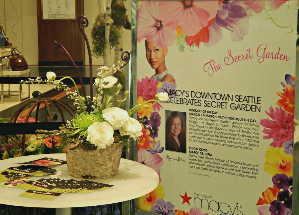 Macy's Flower Show // The Secret Garden