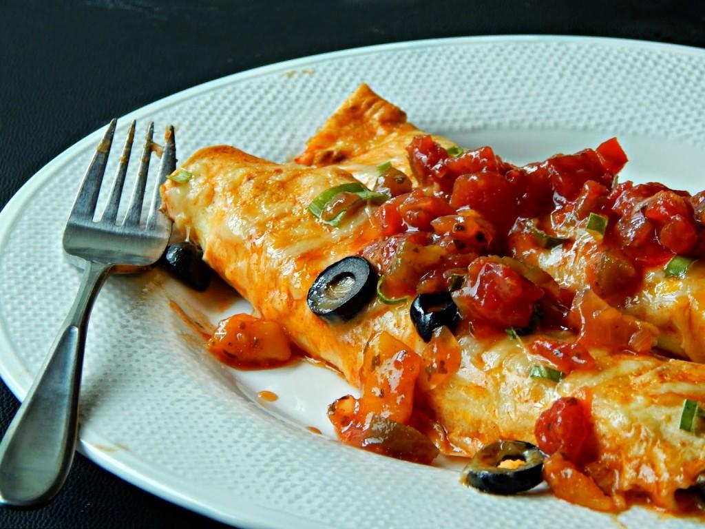 #ad Easy Chicken Enchilada Recipe #SummerOfGiving #shop