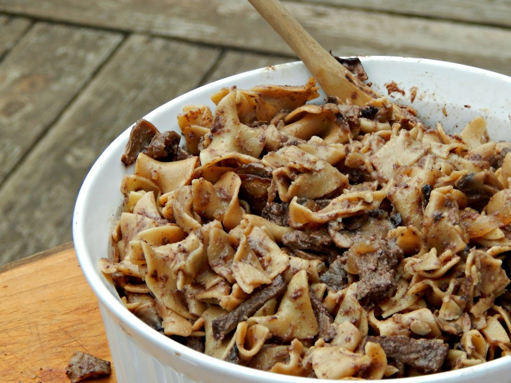 Kefir Beef Stroganoff Recipe #Cbias #shop #KefirCreations