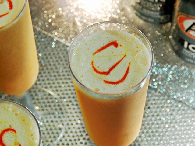 Orange Cream Cocktail with #DrinkTEN products. #Shop
