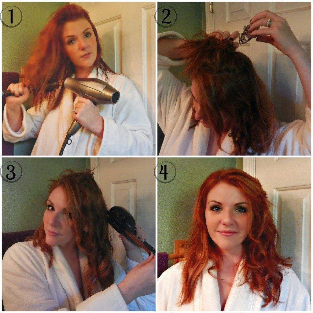 An easy way to create curls #HeartmyHair #ad
