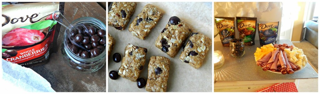 No-Bake DOVE® Fruit Trail Mix Bars #LoveDoveFruits #ad