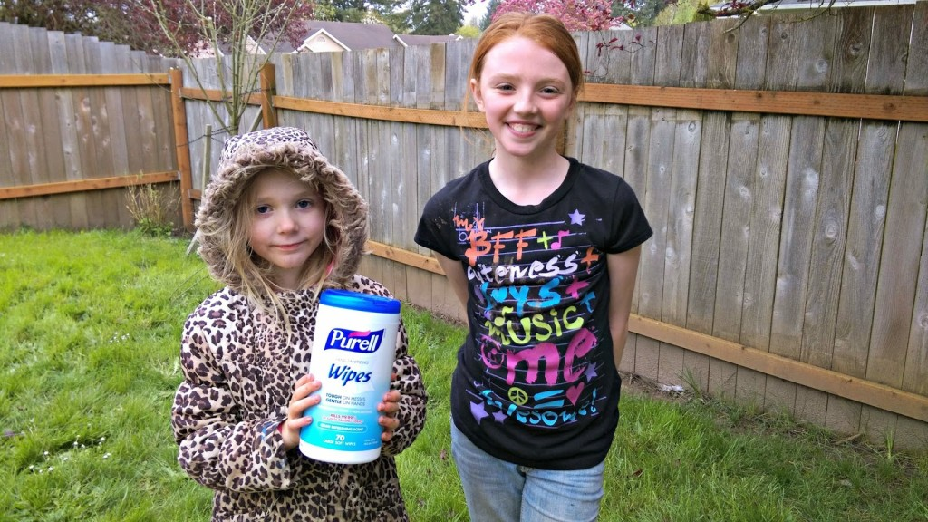 How I keep My kids clean and happy #purellwipes #ad