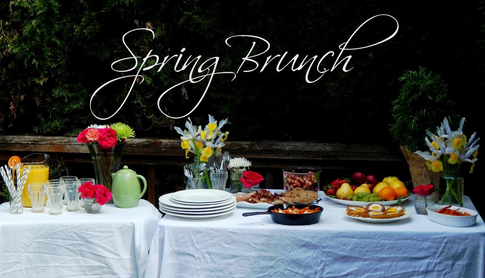 Spring Brunch Menu Melissa Kaylene