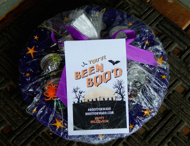 BOO'tiful Stuffed Brownies + A #BOOItForward Surprise AD