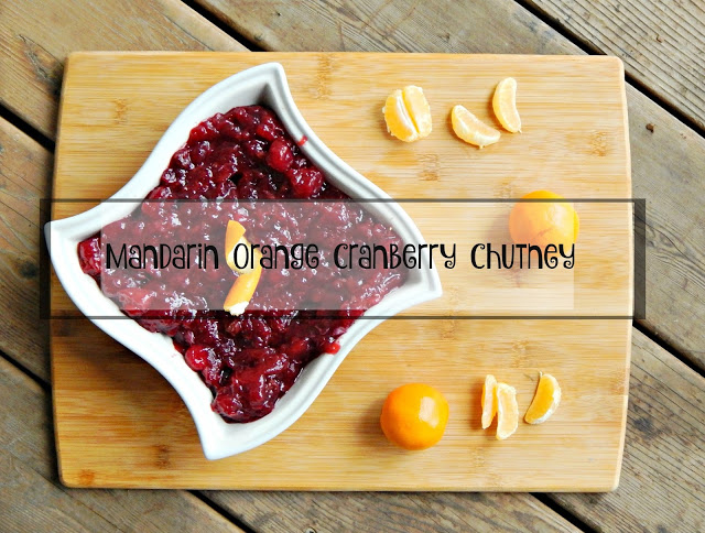 Mandarin Orange Cranberry Chutney