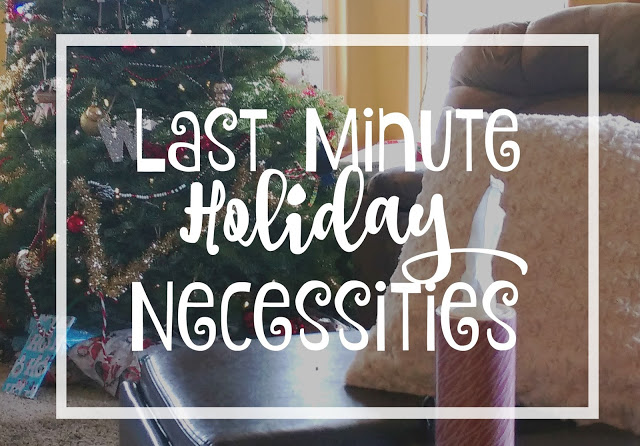 Last minute Holiday necessities to have in your house for guests #holidaynecessities #ad