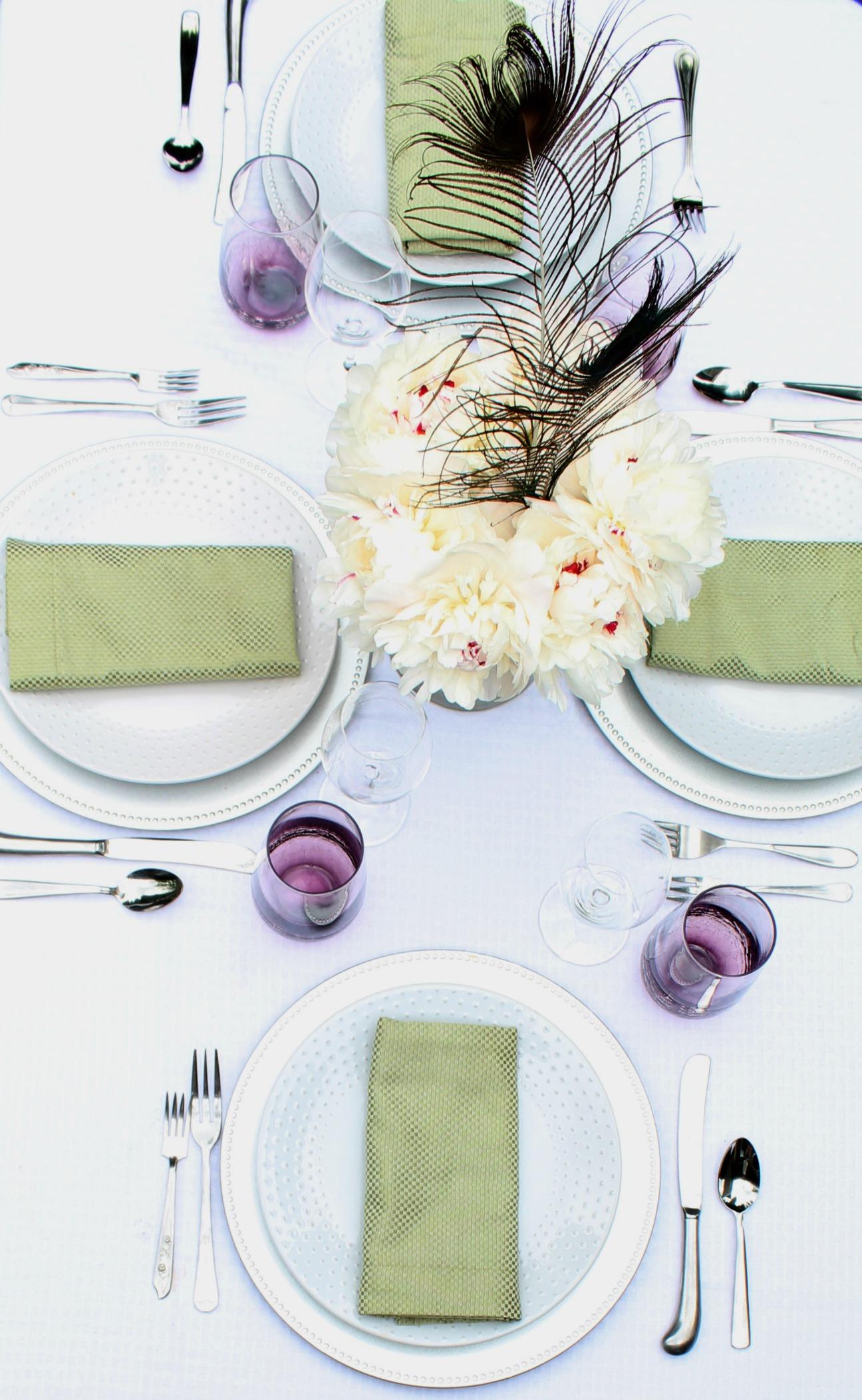 How To Set A Nice Dinner Table Melissa Kaylene
