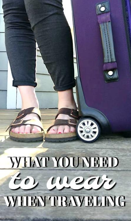 wear traveling