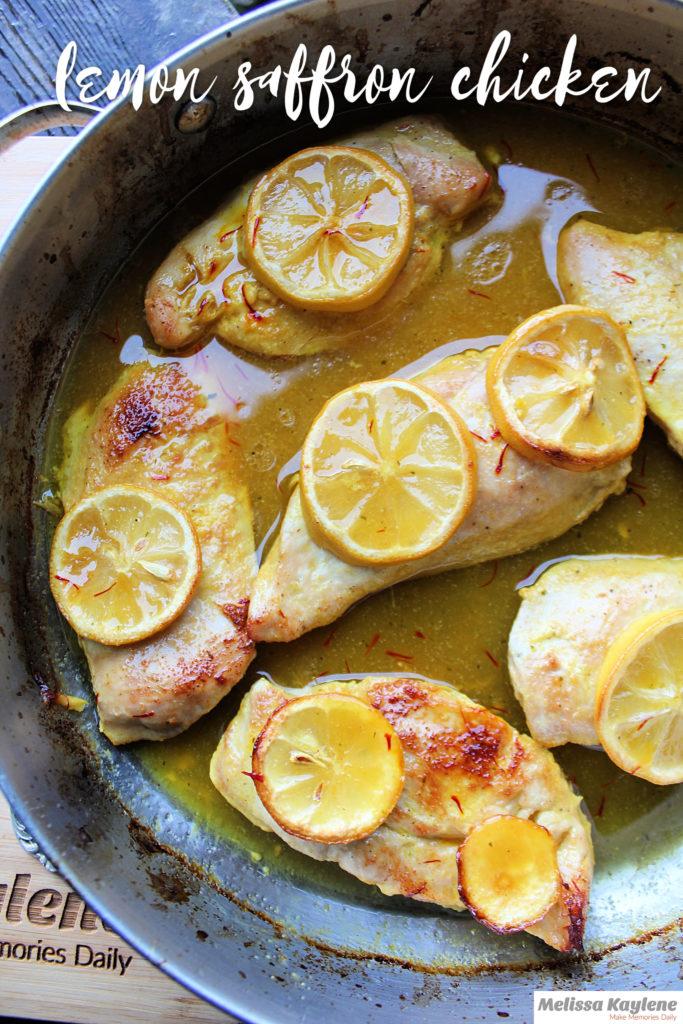 lemon saffron chicken