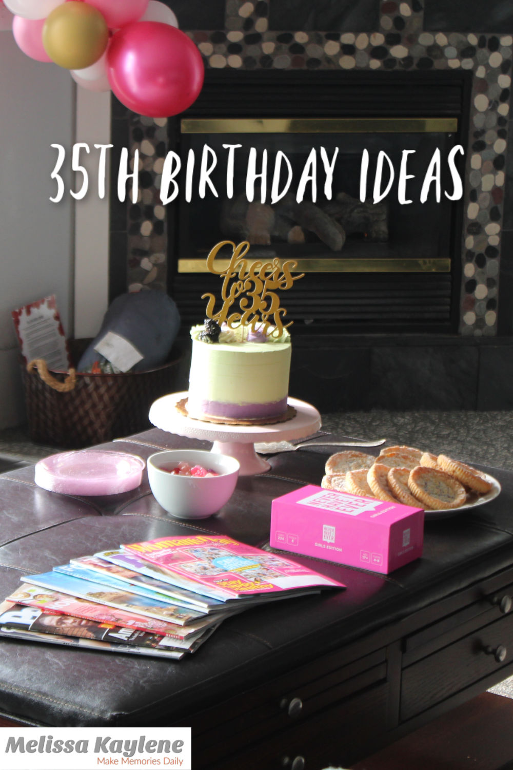 35th birthday ideas