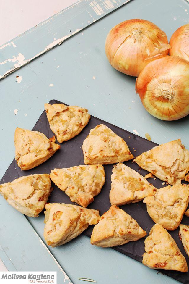 onion scones